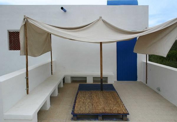 cubierta plana terraza jardín
