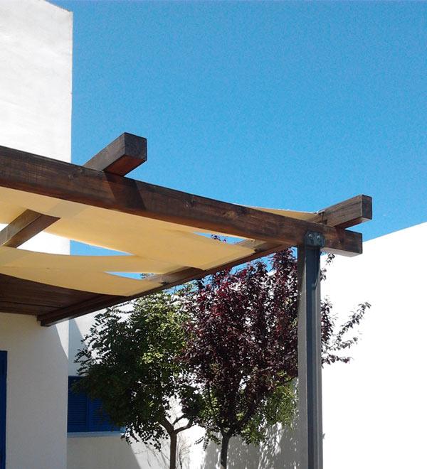 porche de diseño mediterraneo